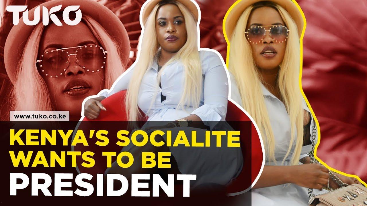 Socialite dating president son