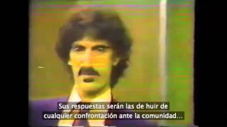 """Entrevista a Frank Zappa en """"Freeman Report"""" (1981, subs en español)"""