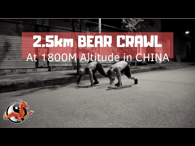 2.5km Bear Crawl - Longest Bear Crawl Without Stopping?