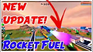 ROCKET FUEL IN JAILBREAK! | Roblox | Jailbreak - Cars Can Now Fly!