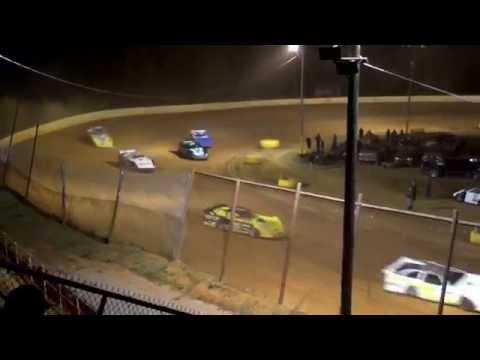 CrazyJohn Videos Ponderosa 11-5-16 Late model heat 1