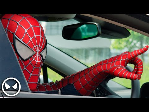 Thumbnail: SPIDER-MAN Attacks Opel Dealer! - Cars are for Humans