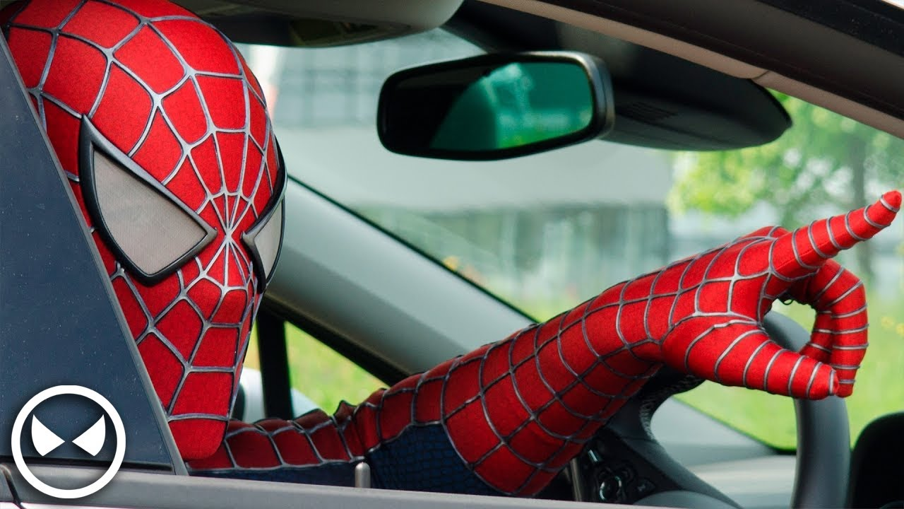 SPIDER-MAN Attacks Opel Dealer! - Cars are for Humans - YouTube f304f45a8af6