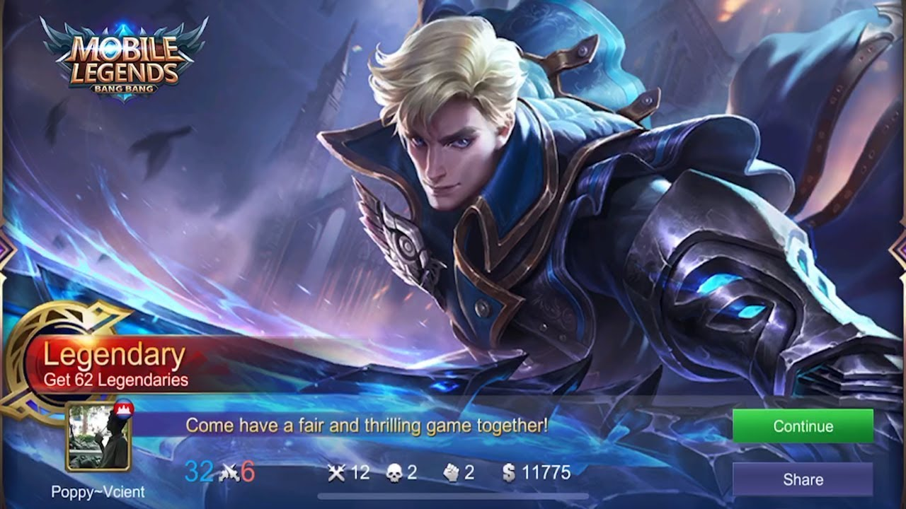 Mobile Legends Alucard Legend Skin Wallpaper Wallpaper Mobile Legend Alucard Skin Legends