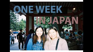 First week in Japan | Watch me eat for 20 minutes straight lol