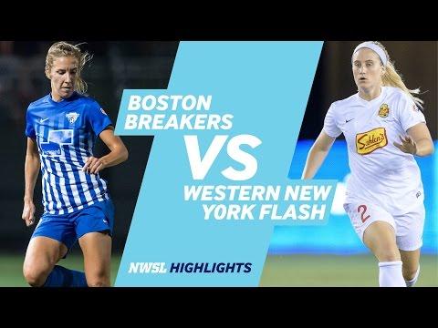 Boston Breakers vs. Western New York Flash: Highlights - September 24, 2016