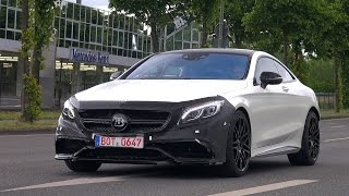 BRABUS 850 6.0 Biturbo Coupe spotted on the road!