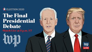 The last presidential debate between Biden and Trump - 10/22 (FULL LIVE STREAM)