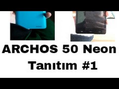 ARCHOS 50 NEON TANITIMI #1