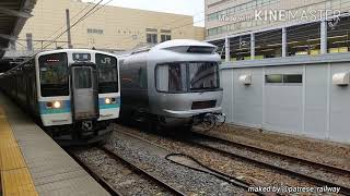 【E26系】今年初めての信州カシオペアが長野に到着(牽引機 EF64 1052)