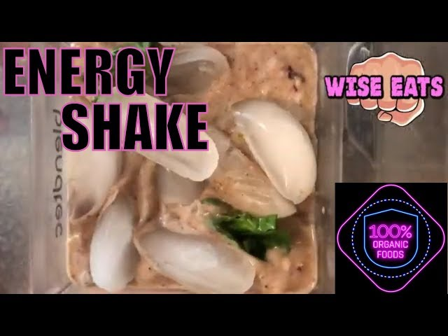 Wise Eats – Breakfast Energy Shake (Superfood Protein Smoothie for Weight Loss & Muscle Growth)