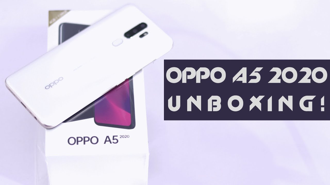 Oppo A5 2020 Unboxing First Look Price In Pakistan