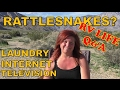 RV Life: Rattlesnake Encounters, Laundry and How I get Internet