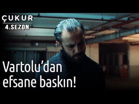 Çukur 4.Sezon 35.Bölüm - Vartolu'dan Efsane Baskın...
