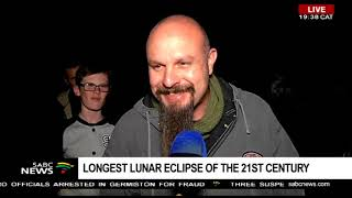 Joburgers excited to witness the longest Lunar Eclipse