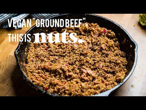 The BEST Vegan Walnut Taco Meat