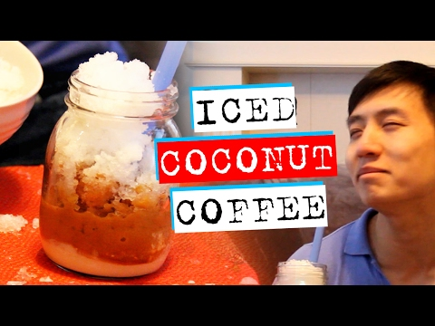 Try This Iced Coconut Coffee Recipe - Secret Ingredient Revealed