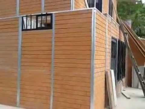 Casas prefabricadas en cali colombia youtube - Casas prefabricadas economicas ...