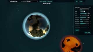 Planetary Annihilation Beta - How to Create a Planetary System