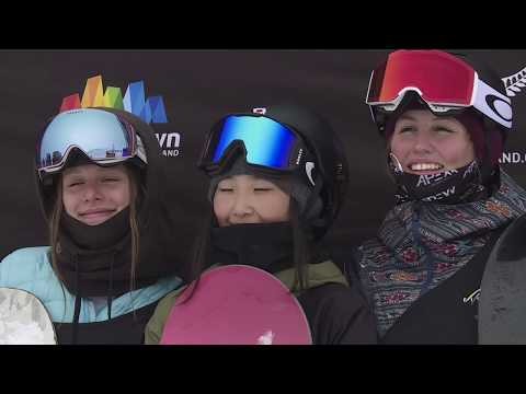 Winter Games NZ 2018 Ep7 Junior Freeski And Snowboard Halfpipe World Champs