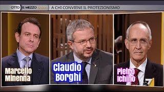 """""""A chi conviene il protezionismo"""" con Claudio Borghi, Marcello Minenna e Pietro Ichino. thumbnail"""