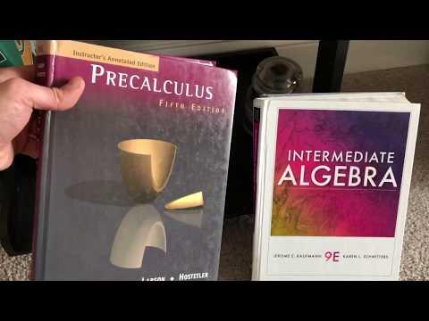 My (Portable) Math Book Collection [Math Books]