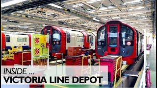 Inside The Victoria Line Depot