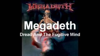 megadeth-dread and the fugitive mind backing track
