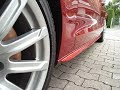 S-Line Side Skirts on Audi A5 Coupe Mounting Timelapse