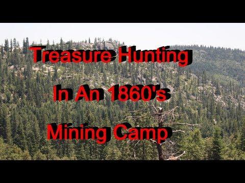 Treasure hunting an 1860's mining camp