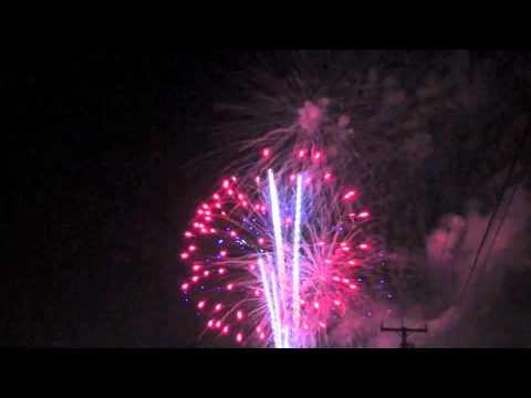 Winslow, Maine Fireworks