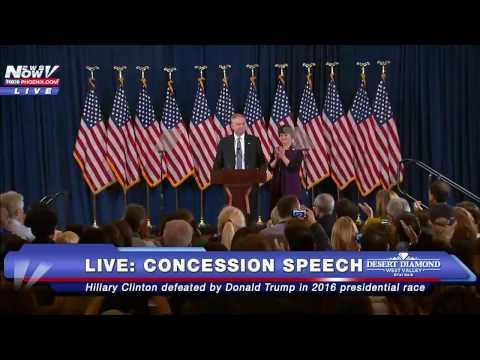 MUST WATCH: Tim Kaine's EMOTIONALLY Speaks Before Hillary Clinton Concession Speech - FULL SPEECH