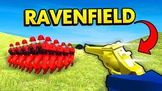 REVOLVER ONLY CHALLENGE IN RAVENFIELD! (Ravenfield Funny Gameplay)