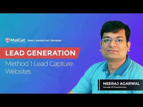 Video-7 Lead Generation Method 1 Lead Capture Websites