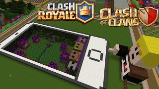 iPhone mit Clash Royale Arena! || Let's Play Royale Clash Craft || Clash of Clans - Minecraft