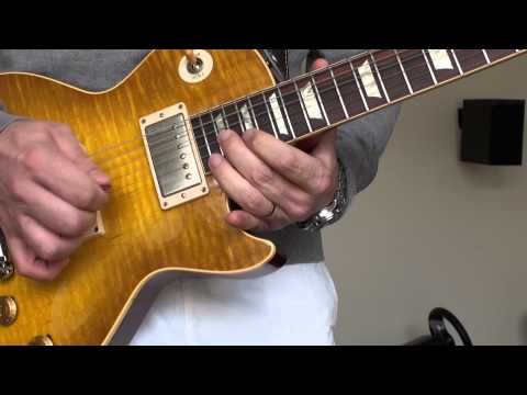 BLUES IMPRO GIBSON LES PAUL R9 LEMON BURST 2007