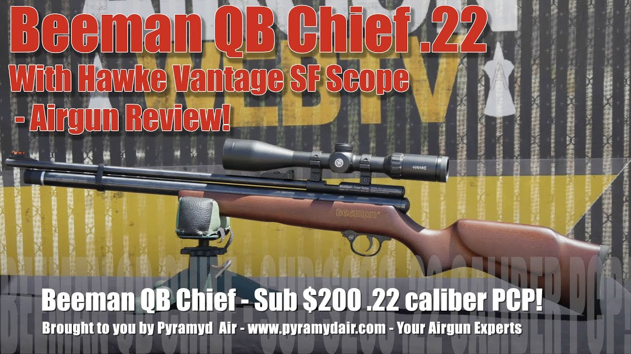 Beeman QB Chief  22 - Is this the new Chief for entry level PCPs? You  Decide! - Review by AirgunWeb