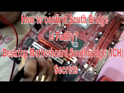 How to confirm South Bridge (ICH) is Faulty. join LCIIT for Chip level course Call: 8010708080