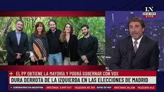 Madrid. Pablo Iglesias deja la política tras una dura derrota electoral