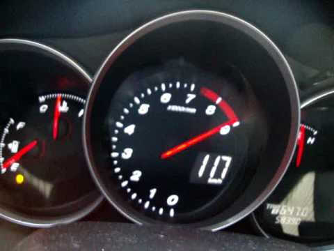 Mazda Rx8 192 9600 Rpm 40 To 130 Kmh In 2nd Gear ! Youtube
