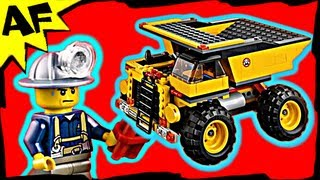 Lego City Mining Truck 4202 Animated Building Review