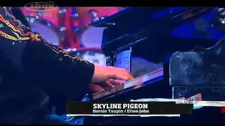 Elton John - Skyline Pigeon (live) Rock in Rio IV 2011 HD Special Performance (13th song).wmv