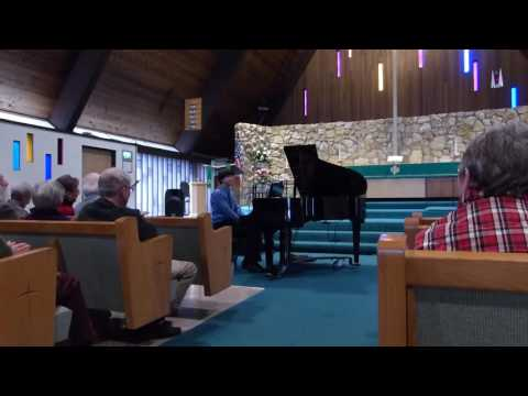 2016 Bellingham Music Club High School Piano Competition Honor Recital, William Zhang 1st Place