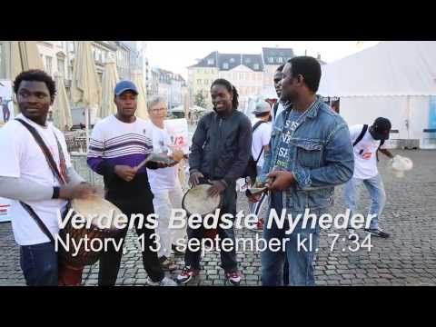 World's Best News - NGO campaign in Copenhagen