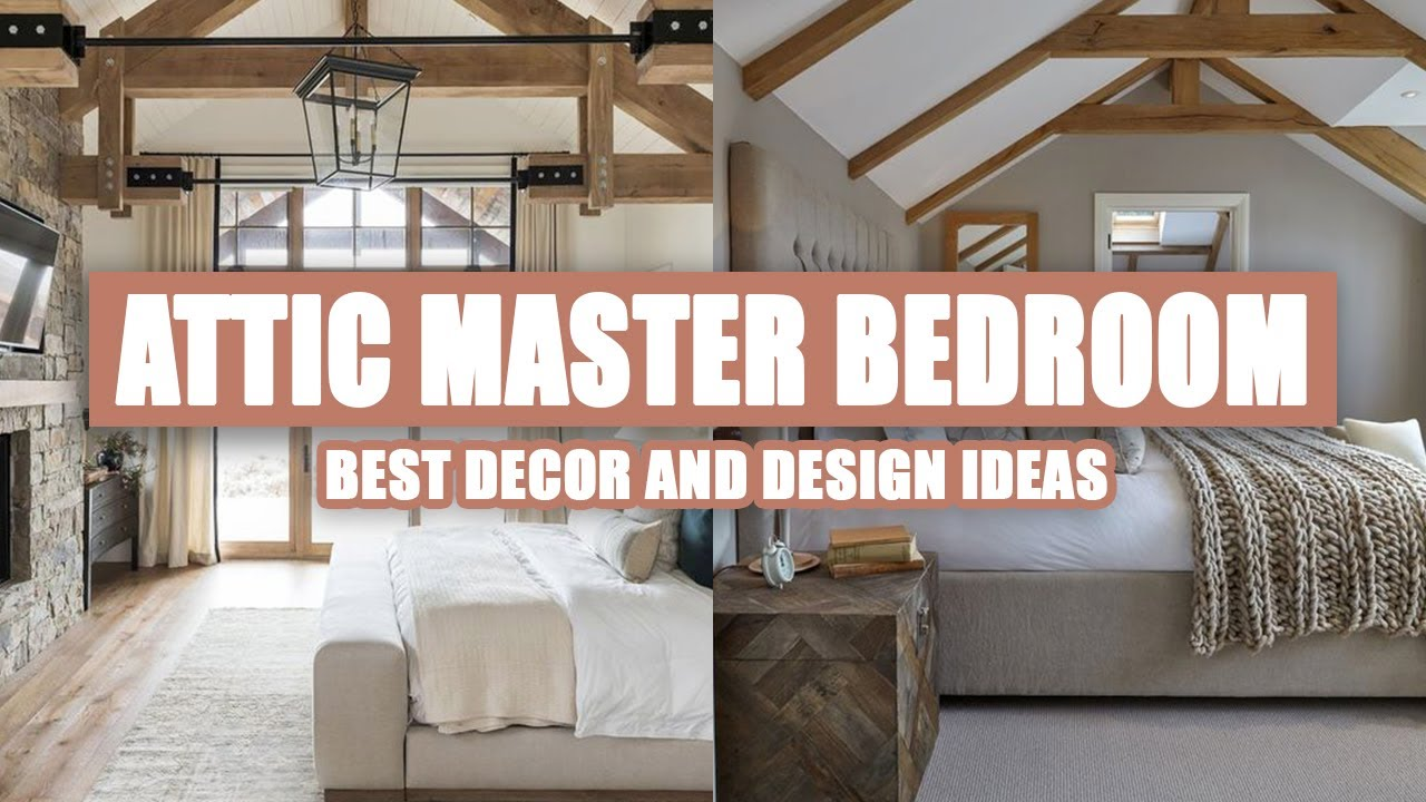 50 Attic Master Bedroom Ideas You Need To See Youtube