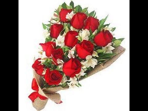 Como hacer un ramo de rosas youtube - Como hacer ramos de flores ...