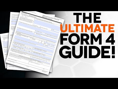 The ULTIMATE FORM 4 GUIDE! - The Legal Brief