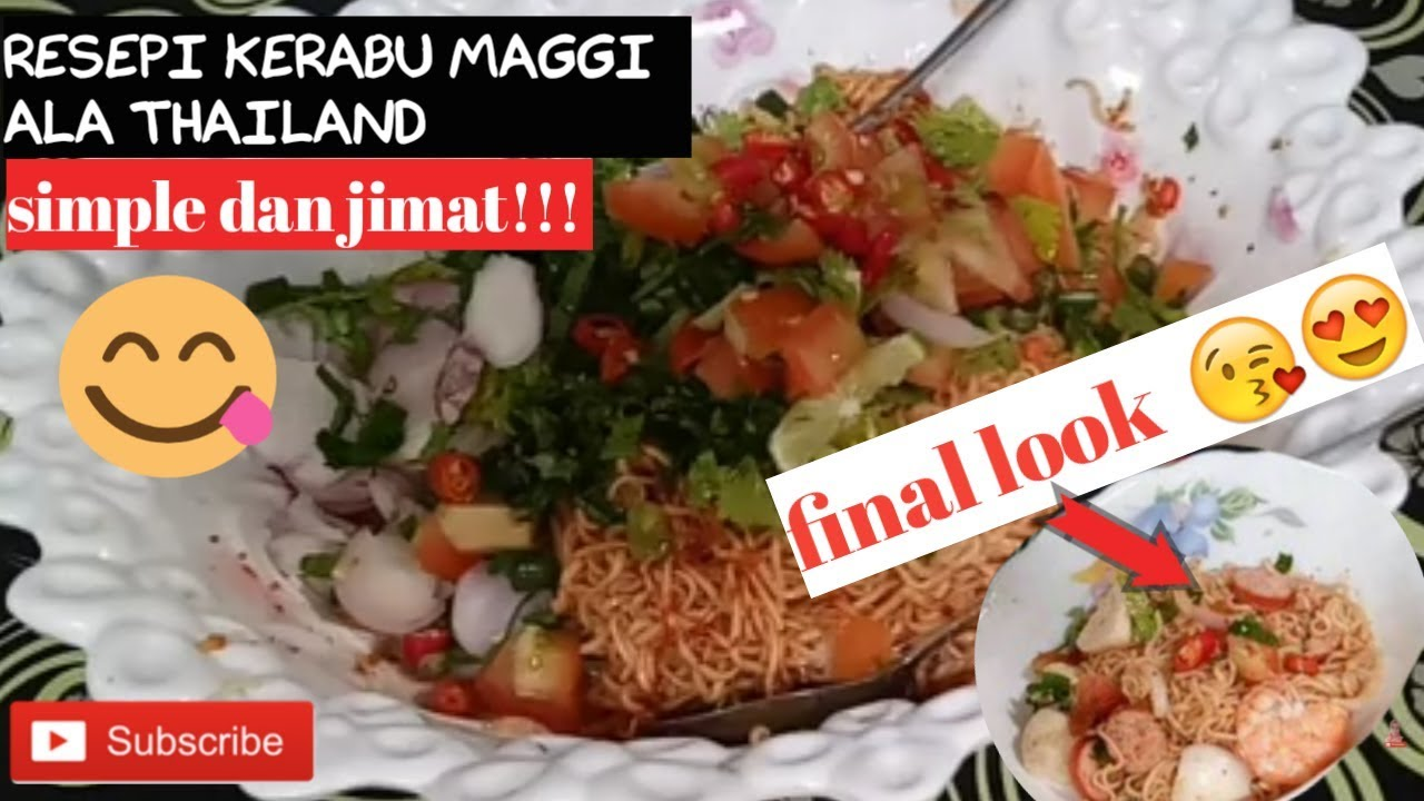 Resepi Maggi Special Mesilou Oleh Haji Jamal By I Am Mohd Sham