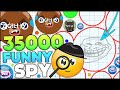 HERE'S A CLEVER FUNNY TITLE FOR MY SPY SKIN AGARIO VIDEO (35000+ MASS BIGGEST CELL on Agar.io #145)