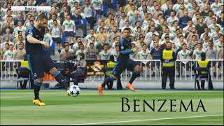 Wolfburg VS Real Madrid-Pes 2016 Game play/ UEFA Champion League prediction/ PC games